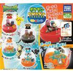 全套4款 精靈寶可夢 太陽與月亮 遊戲組 扭蛋 轉蛋 神奇寶貝 TAKARA TOMY