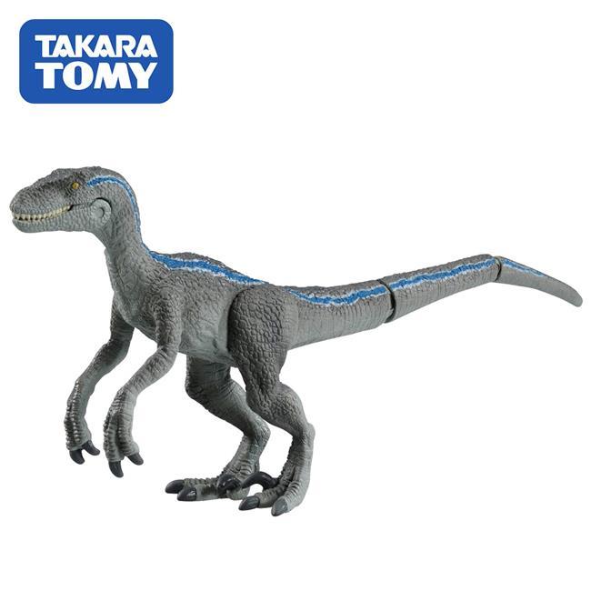侏儸紀世界 迅猛龍 小藍 恐龍模型 TOMICA ANIA 多美動物園 TAKARA TOMY