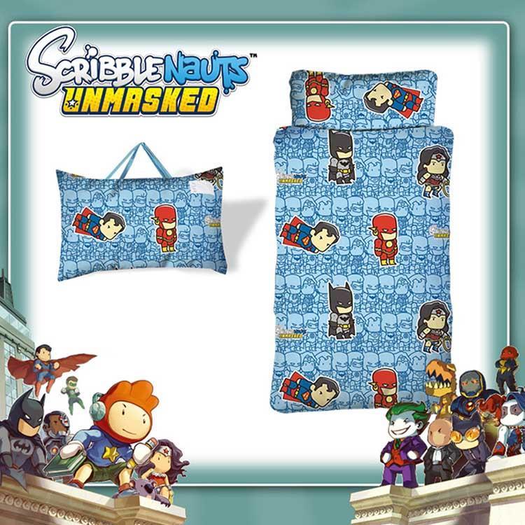 【正義聯盟】超級英雄兒童睡袋-Q版篇