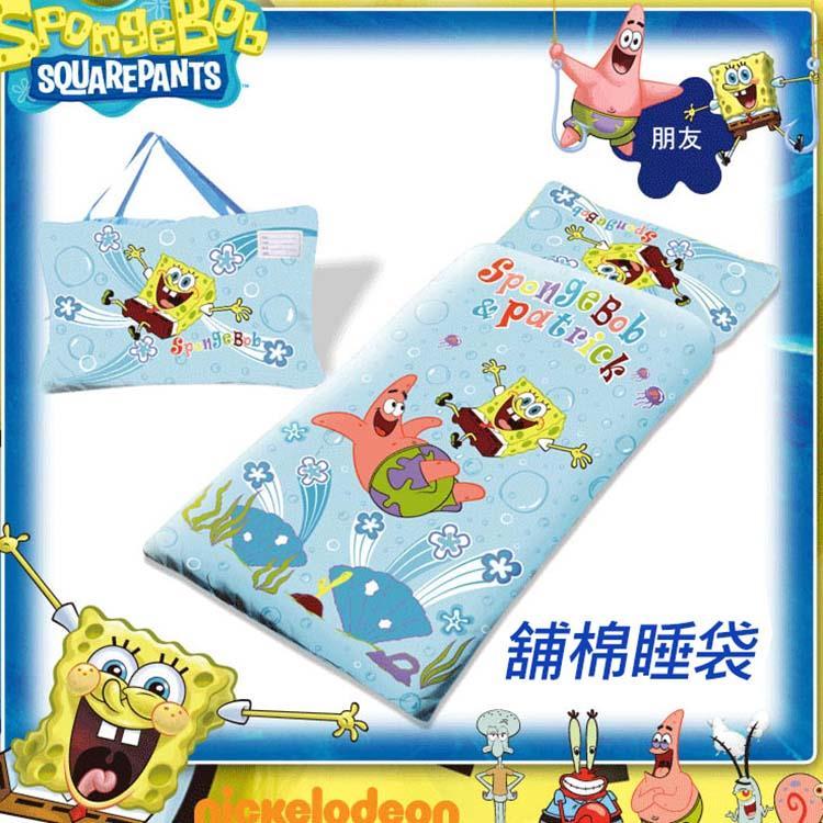 【海綿寶寶】朋友篇冬夏舖棉兒童睡袋