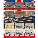 整盒10入 1/144 WING KIT 收藏集 VS8 盒玩 模型 德國空軍 戰鬥機 F-toys