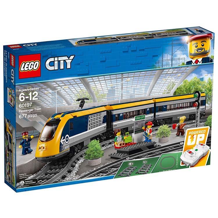 樂高積木 LEGO《 LT 60197 》2018年 City 城市系列 - 客運列車