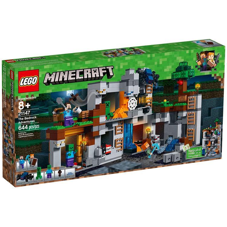 樂高積木 LEGO《 LT21147 》Minecraft系列 - The Bedrock Adve