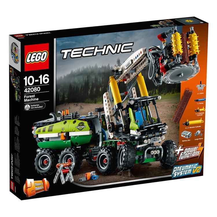 樂高積木 LEGO《 LT42080 》Technic 科技系列 - 伐木機械車