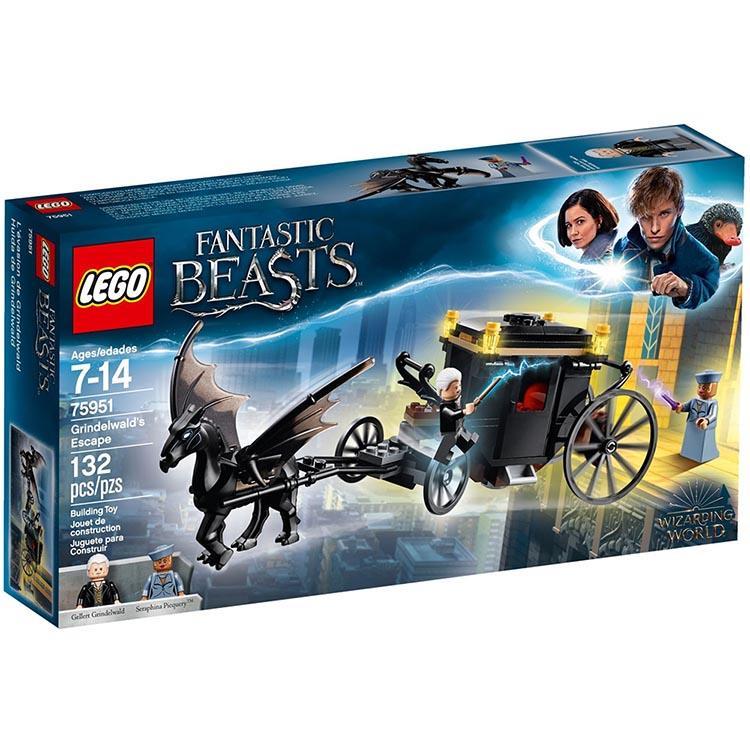 樂高積木 LEGO《 LT75951 》Harry Potter 哈利波特系列 - 葛林戴華德脫逃