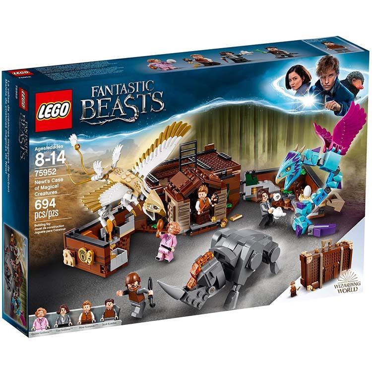 樂高積木 LEGO《 LT75952 》哈利波特系列 - 紐特的魔法生物手提箱