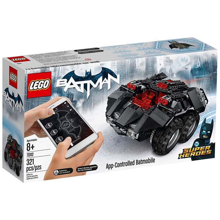 樂高積木 LEGO《 LT76112 》SUPER HEROES 超級英雄系列 - App遙控蝙蝠車