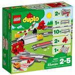 樂高積木 LEGO《 LT10882 》Duplo 得寶系列 - 列車軌道