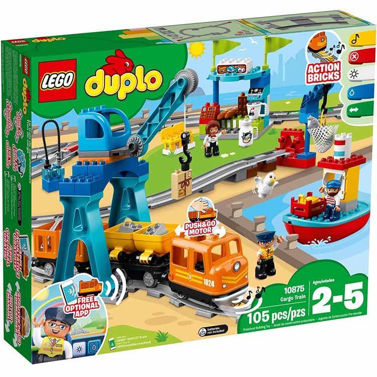 樂高積木 LEGO《 LT10875 》Duplo 得寶系列 - 貨運列車