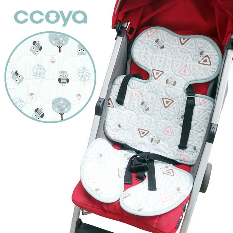 【虎兒寶】Ccoya 韓國製寶寶推車四季通用3D坐墊-森林貓頭鷹