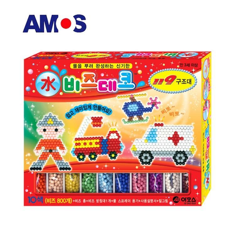【虎兒寶】韓國 AMOS 益智水拼珠 - 119 款