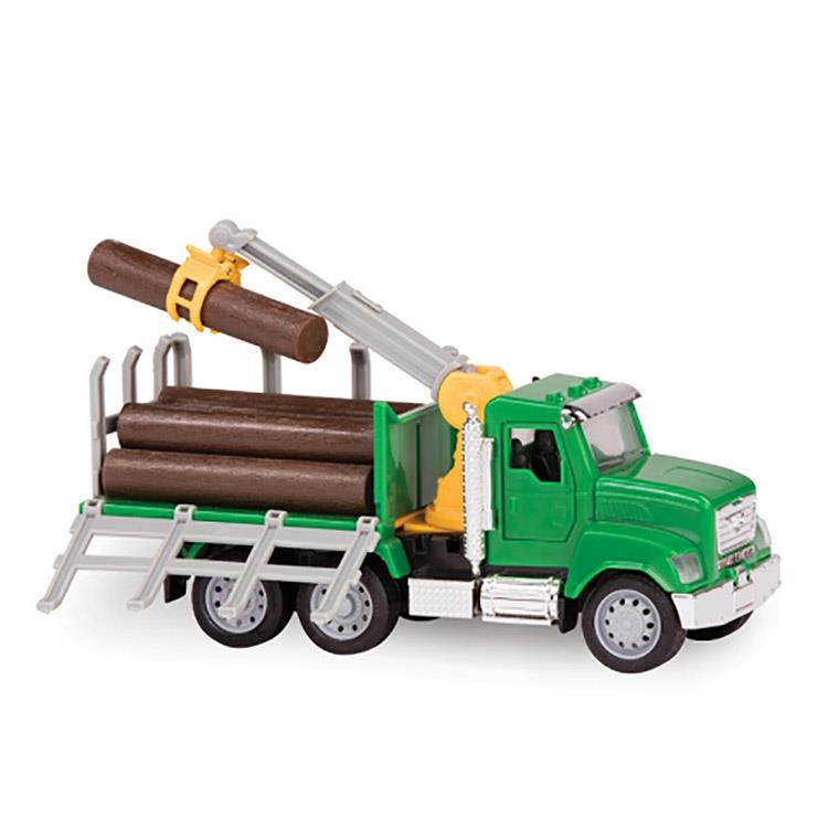《 美國 B.toys 感統玩具 》迷你載木吊車