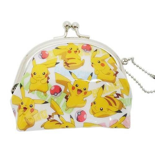 寶可夢 皮卡丘 伊布 半月型 珠扣包 零錢包 神奇寶貝 PIKACHU