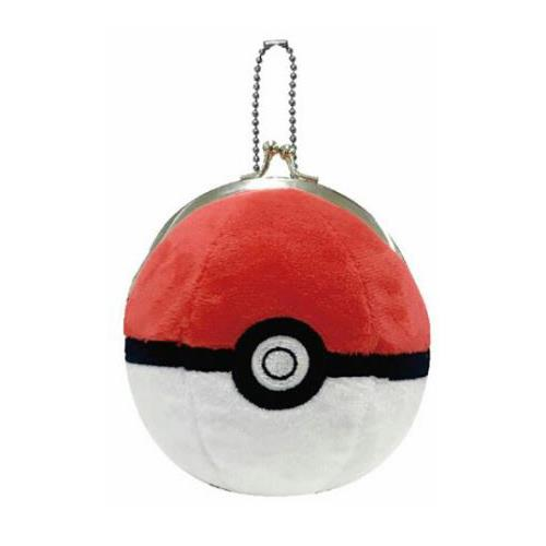 寶可夢 皮卡丘 神奇寶貝 寶貝球 吊飾 珠扣包 零錢包 PIKACHU