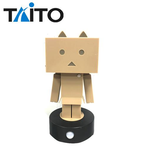 阿愣 造型感應燈 感應式 夜燈 擺飾 紙箱人 四葉妹妹 TAITO