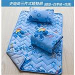【17mall】史迪奇三件式兒童睡墊組(睡墊+枕頭+四季被)