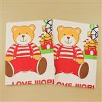 【愛的世界】LOVEWORLD熊熊尿墊(黃色)-70*90cm-2入/台灣製