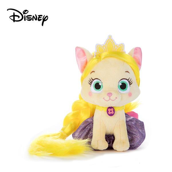 長髮公主 宮廷寵物 梳髮娃娃 絨毛玩偶 樂佩 魔髮奇緣 迪士尼 Disney