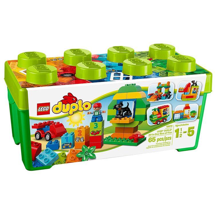 樂高積木 LEGO《 LT 10572  》Duplo 幼兒系列 - 多合一樂趣箱