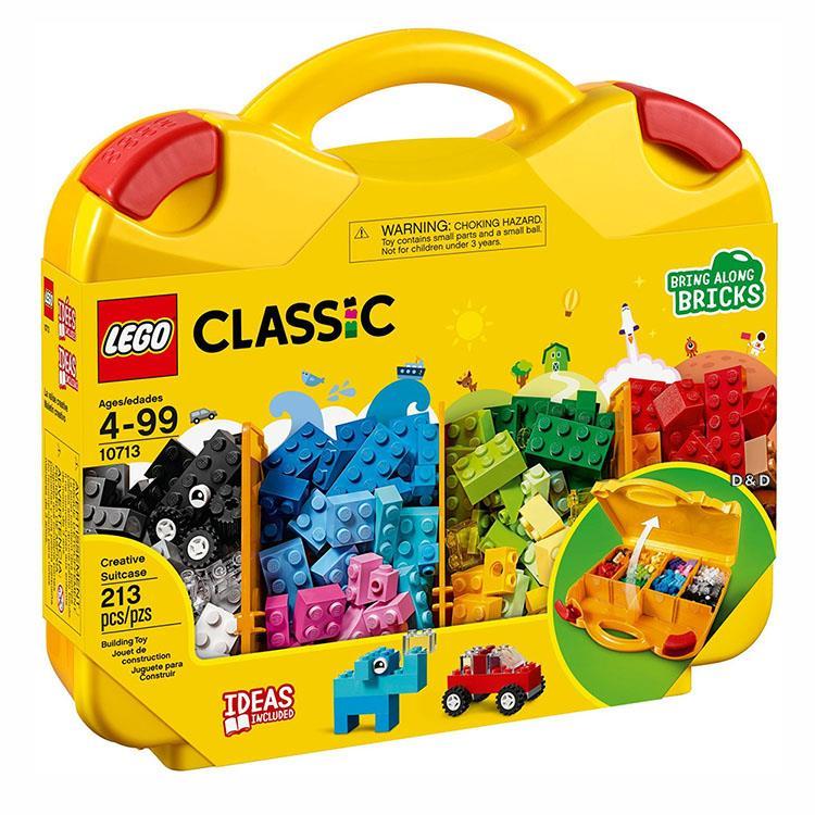 樂高積木 LEGO《 LT10713 》Classic 經典基本顆粒系列 - 創意手提箱