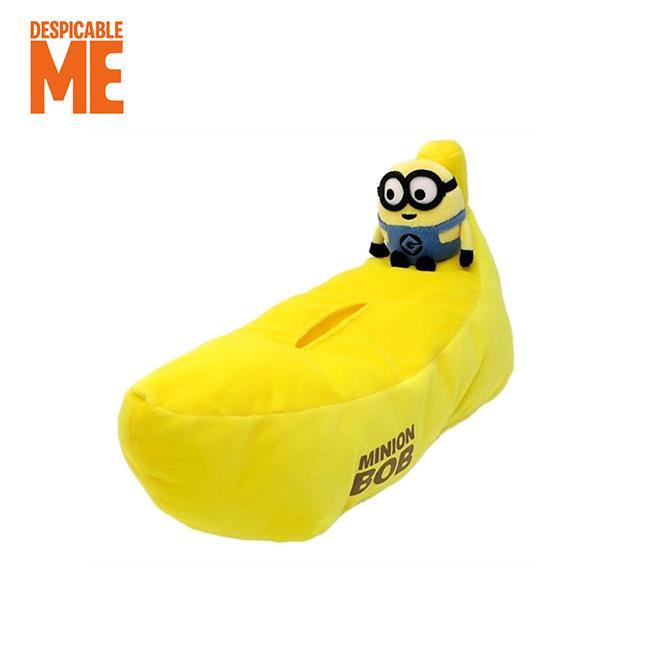 小小兵 香蕉造型 面紙套 面紙盒 居家擺飾 神偷奶爸 minions