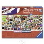 【德國Ravensburger拼圖】披頭四經典年表-全景拼圖-1000片