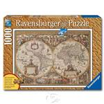 【德國Ravensburger拼圖】古世界地圖-1000片 Antique World Map