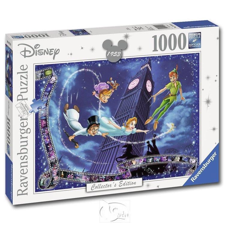 【德國Ravensburger拼圖】迪士尼:彼得潘-1000片 Peter Pan