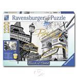 【德國Ravensburger拼圖】手繪金漆-金色巴黎-1200片 Golden Paris