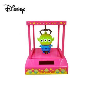 三眼怪 太陽能公仔 太陽能娃娃 辦公小物 擺飾 玩具總動員 迪士尼
