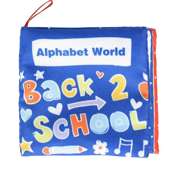 Alphabet World-寶寶認知學習英文布書