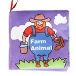 Farm Animal-寶寶認知學習英文布書