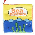 Sea Creature-寶寶認知學習英文布書