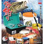 全套6款 海釣器材組 扭蛋 轉蛋 釣魚用具 擺飾