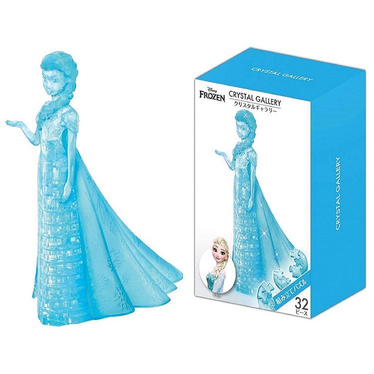 《 3D Ctystal Puzzles 》立體水晶拼圖 - 艾莎公主