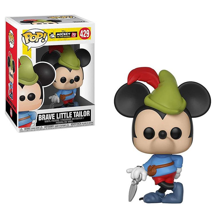【 Funko 】 POP!系列 Q版公仔 迪士尼:米奇90週年 - 勇敢的小裁縫