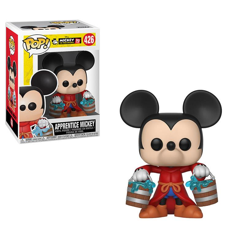 【 Funko 】 POP!系列 Q版公仔 迪士尼:米奇90週年 - 魔法師學徒米奇