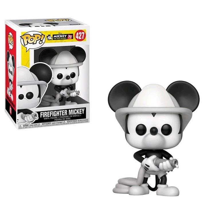 【 Funko 】 POP!系列 Q版公仔 迪士尼:米奇90週年 - 消防隊米奇