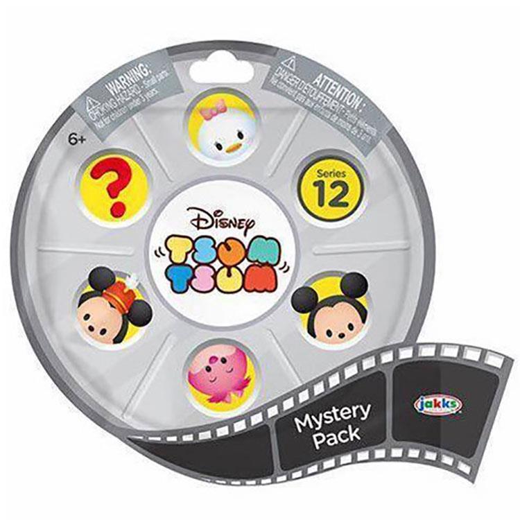 《Disney 迪士尼》Tsum Tsum單入組 Series 12 (款式隨機)