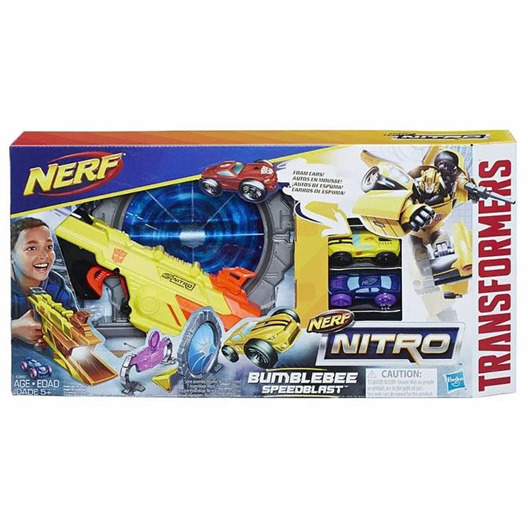 《NERF 樂活打擊》極限射速賽車系列 - 大黃蜂賽車組