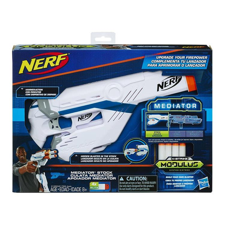 《NERF 樂活打擊》自由模組系列 - 重裝火力配件組 (槍托款)