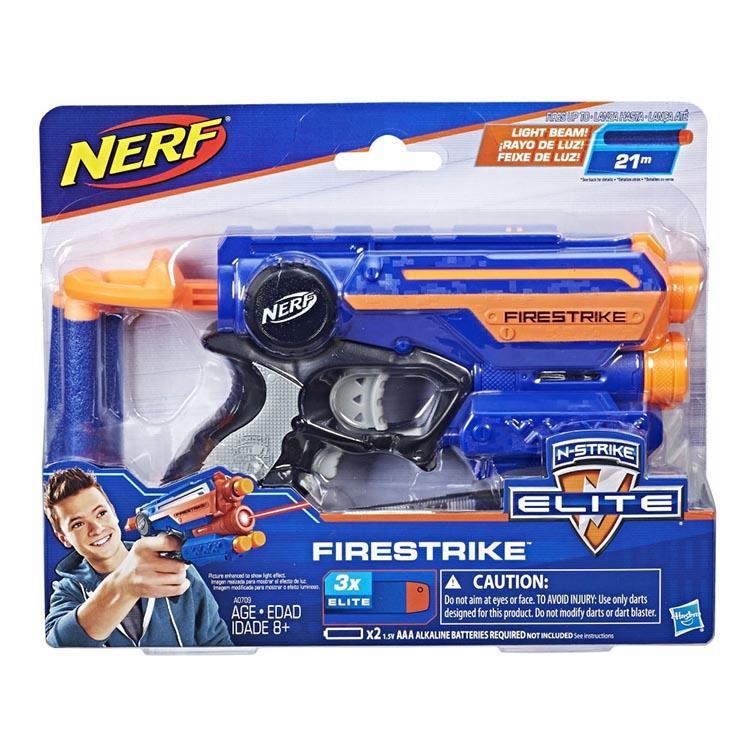 《NERF 樂活打擊》菁英系列 - 夜襲者紅外線衝鋒槍 (藍)