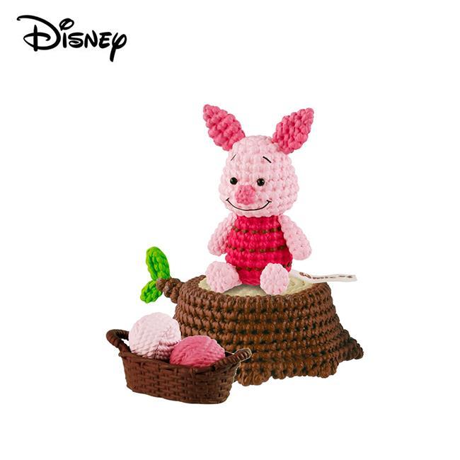 Amicot 小熊維尼 小豬 編織公仔 Winnie 公仔 模型 迪士尼 Banpresto 萬普