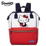 凱蒂貓 大開口 後背包 背包 口金後背包 Hello Kitty 三麗鷗 Sanrio