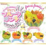 全套5款 滿滿水果潘趣 吊飾 扭蛋 轉蛋 Fruit Punch J.DREAM
