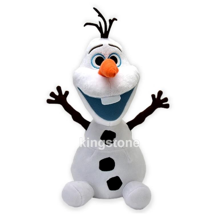 Disney冰雪奇緣【頑皮雪寶Olaf】絨毛玩偶-S號