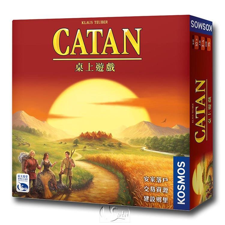 【新天鵝堡桌遊】卡坦島 Die Siedler von Catan/桌上遊戲