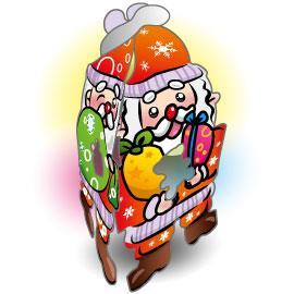 愛聖誕吊飾-聖誕老人