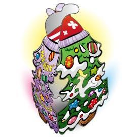 可愛聖誕吊飾-小聖誕樹