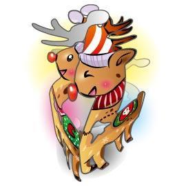 可愛聖誕吊飾-小馴鹿
